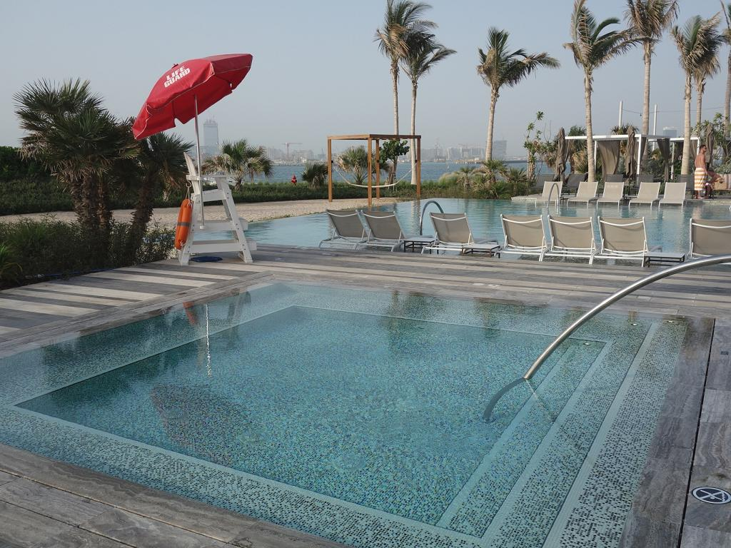 Whirlpool vom Caesars Resort Bluewaters Dubai
