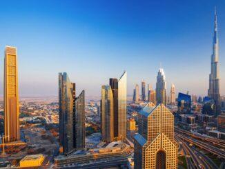 Dubai Skyline Wolkenkratzer