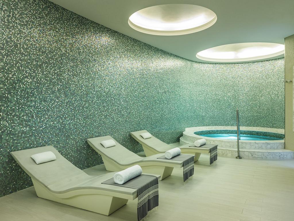 Der Spa Bereich vom © Hilton Dubai Al Habtoor City