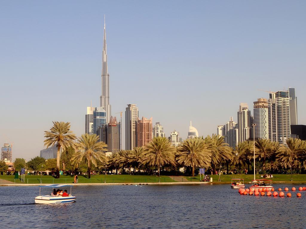 Der Safa Park in Dubai