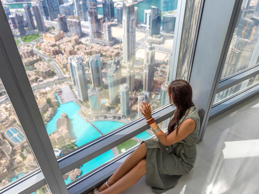 Die Aussicht vom Burj Khalifa