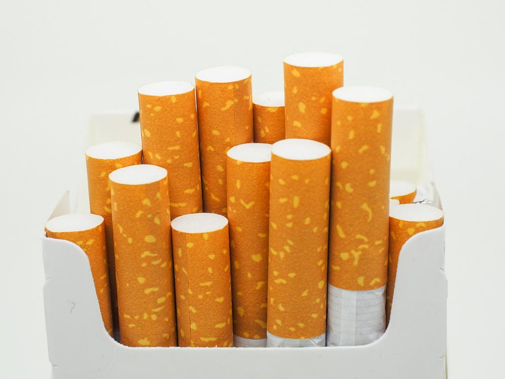 Zigaretten Schachtel