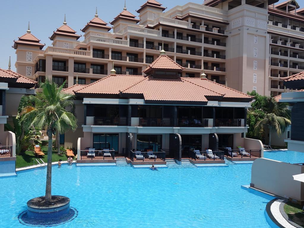 Die Lagune vom Anantara Hotel in Dubai