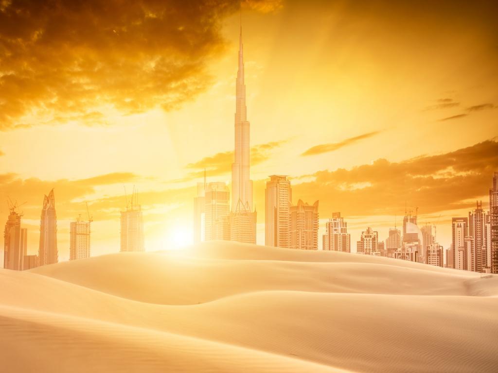 Dubai Sonnenuntergang