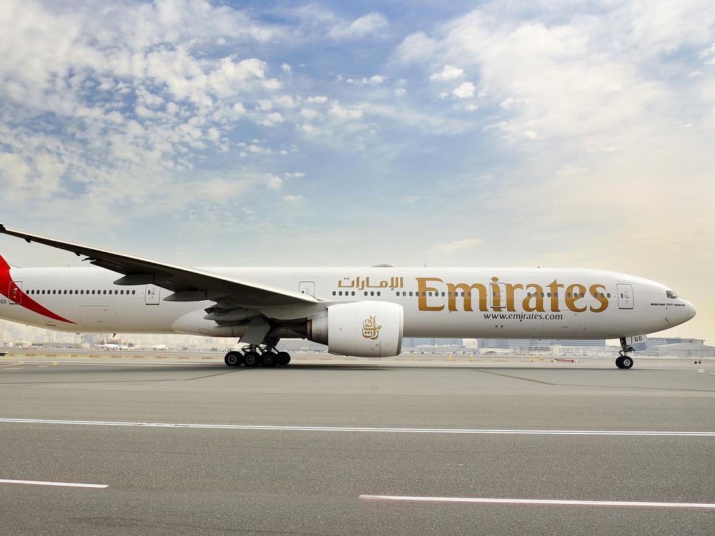 © Emirates | Boeing 777-300ER am Flughafen Dubai