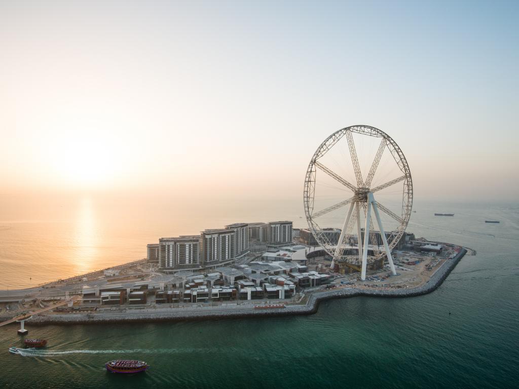 Ain Dubai und Bluewaters Island