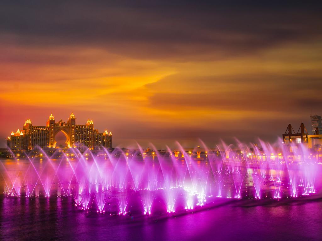 Dubai The Palm Fountain