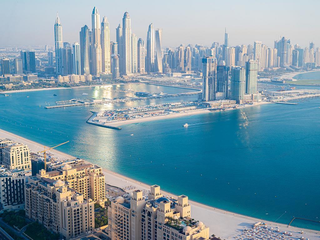 Ausblick zur Dubai Marina