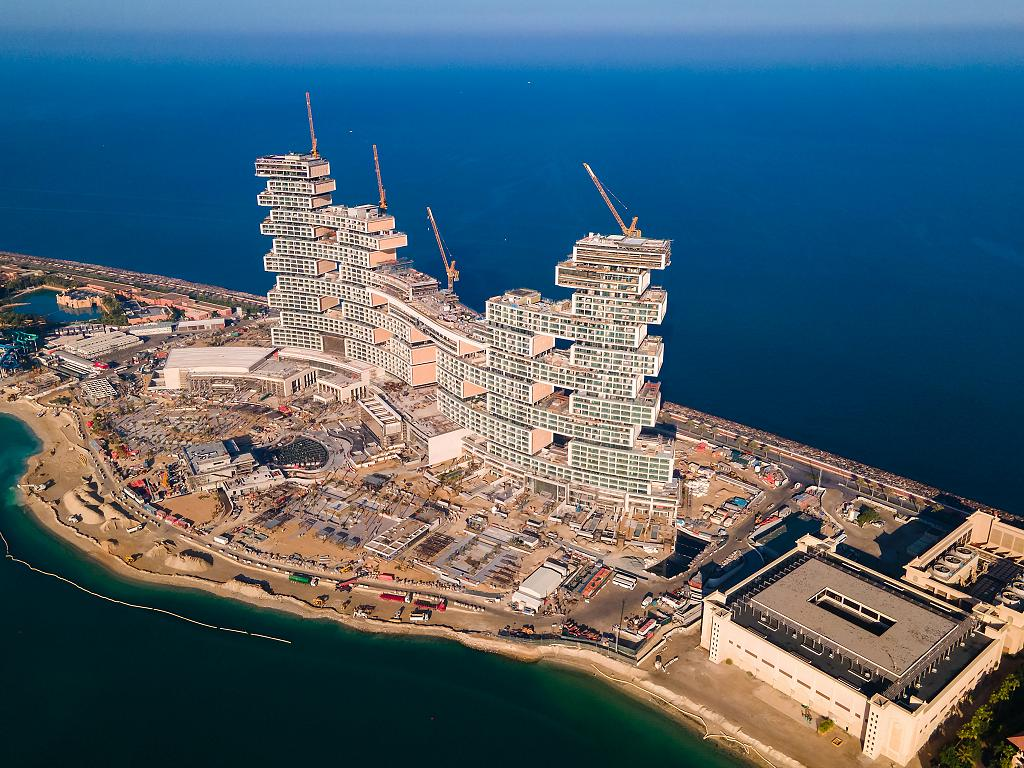 Panorama von der Baustelle