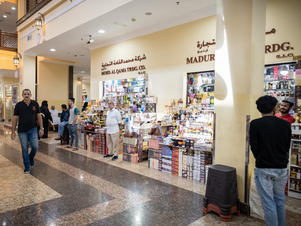 Geschäfte im Naif Souk