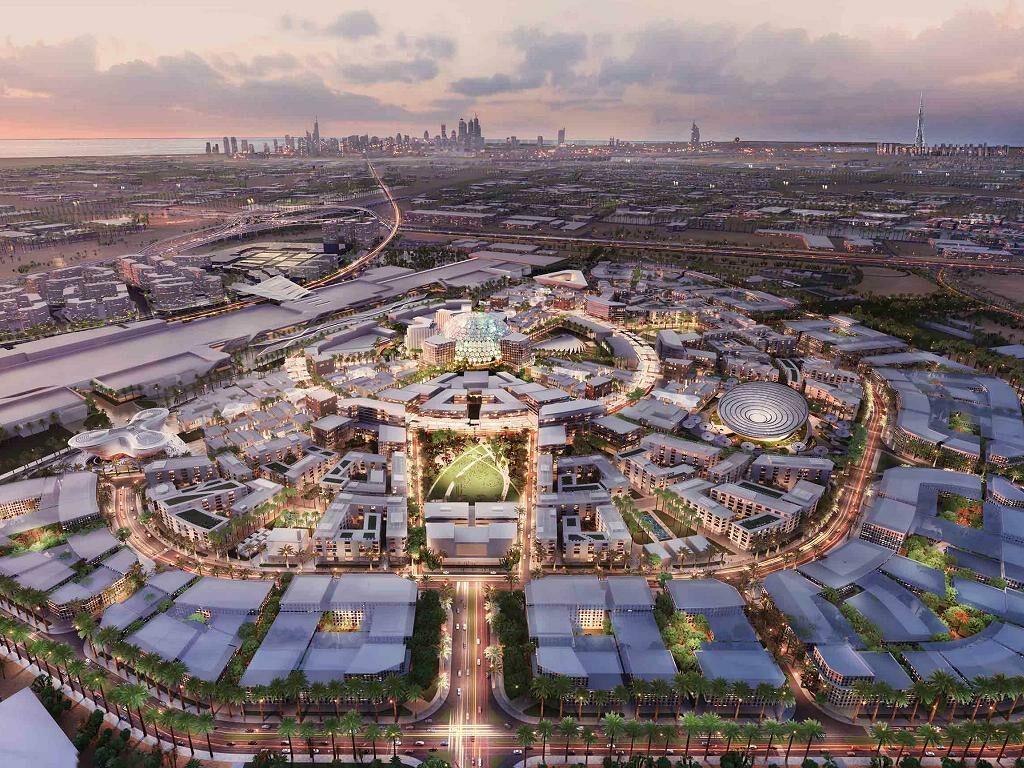 Das Expo Gelände | © Emirates Airline