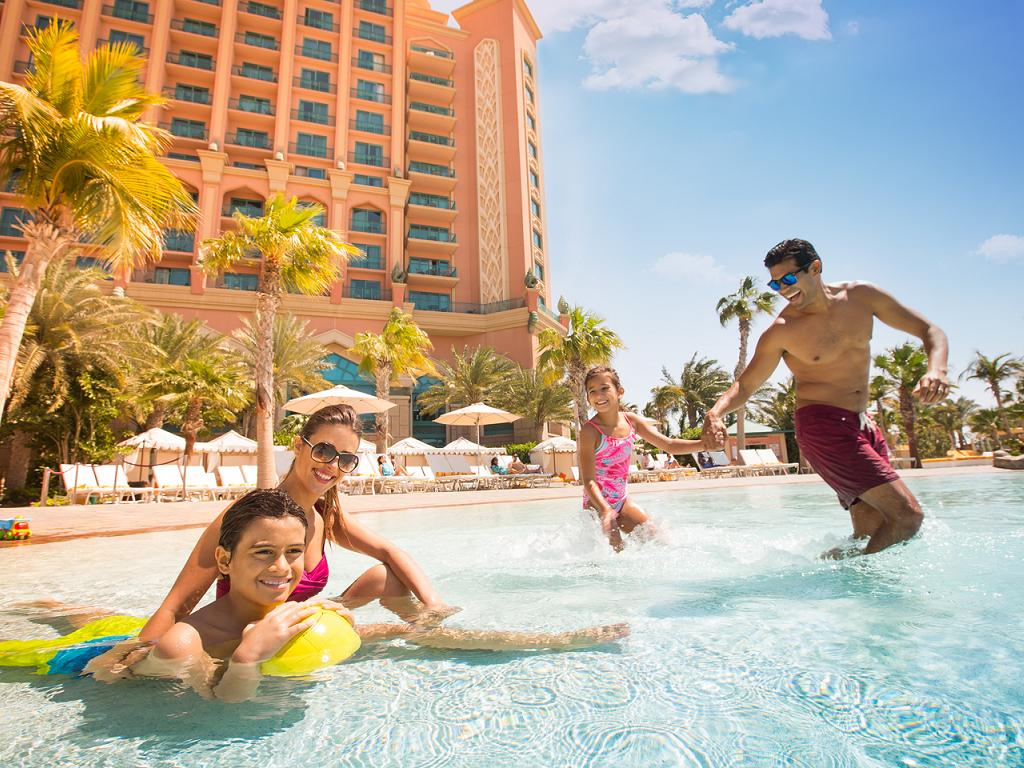 Pool © Atlantis The Palm