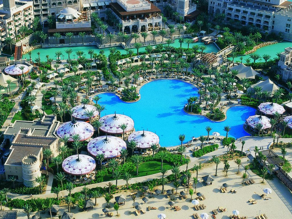 Pool © Jumeirah Al Qasr