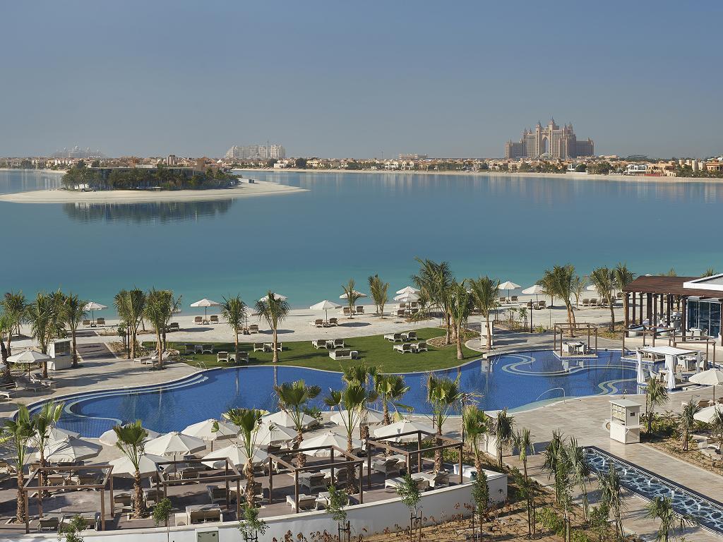 Pool © Waldorf Astoria Dubai Palm Jumeirah